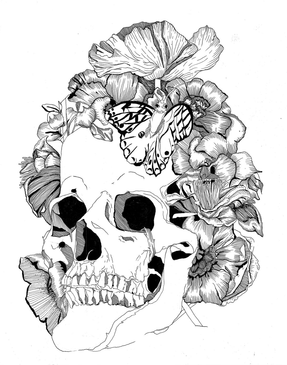 Pen & Ink on Paper